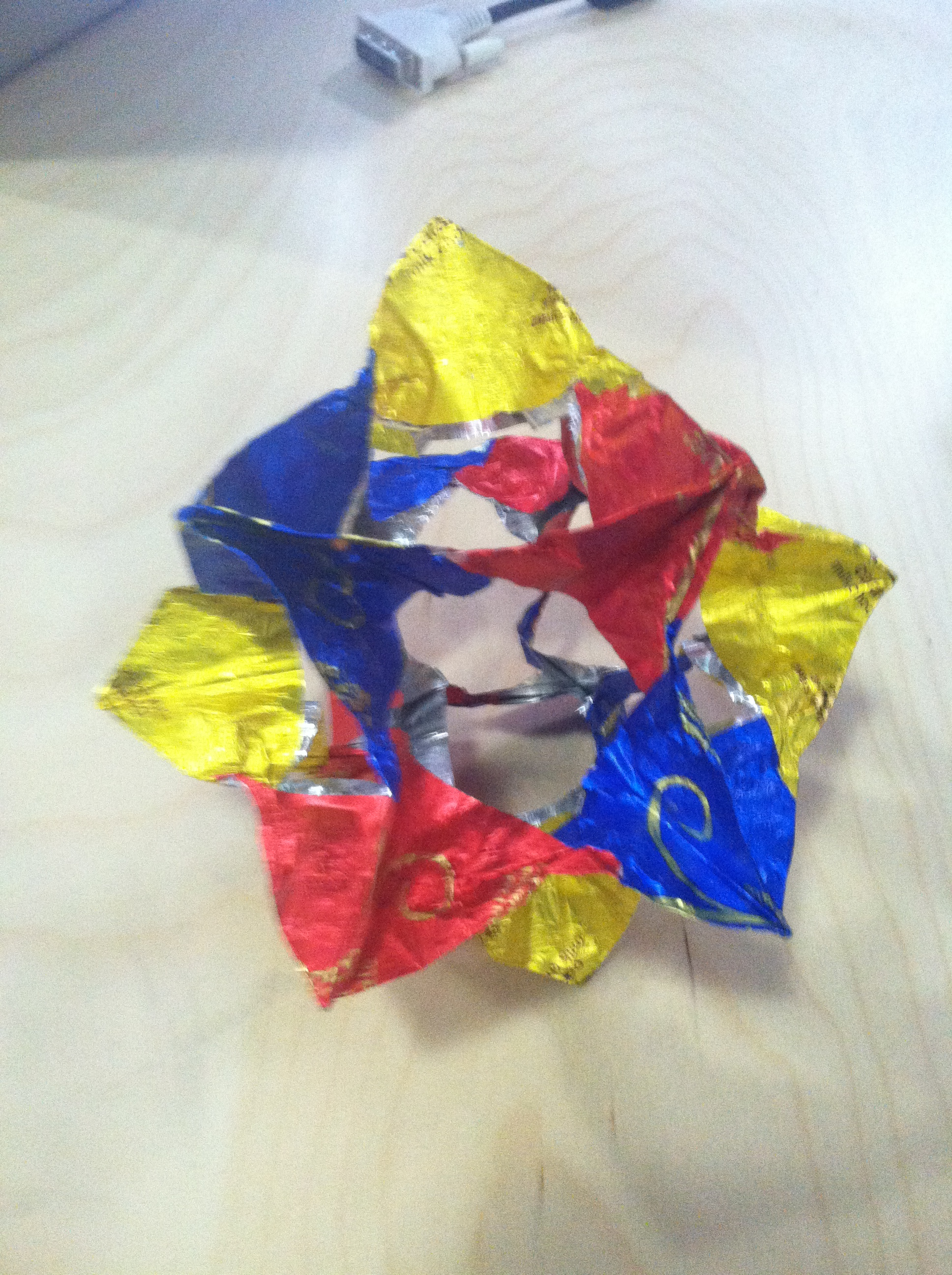 Small Chocolate Wrapper Structure