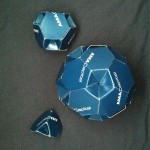 Three Archimedean Solids